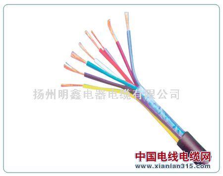 RVV型300/500V铜芯聚氯乙烯绝缘聚氯乙烯护套软电缆1