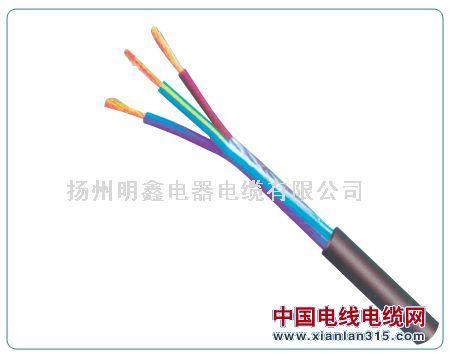 RVV型300/300W铜芯聚氯乙烯绝缘聚氯乙烯护套软电缆