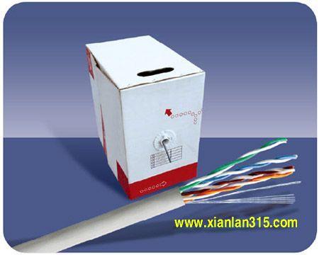 五类、超五类局域网电缆(UTP cat5)