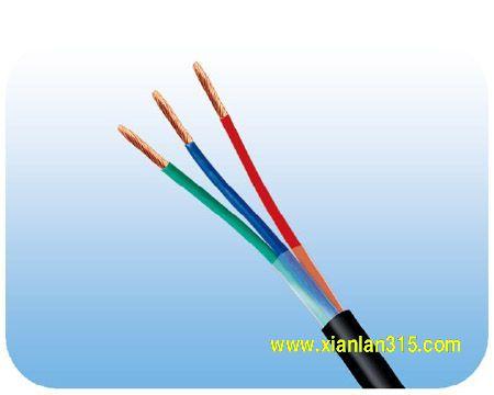 AVVR聚氯乙烯护套安装软电缆