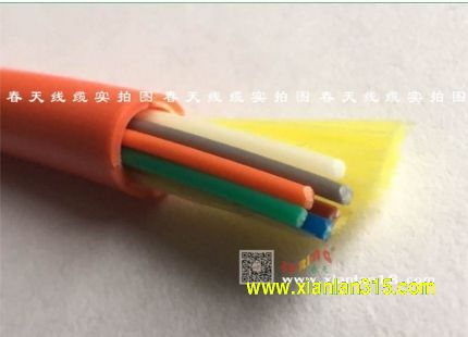 GJFJV-4B1室内4芯单模光缆(颜色可选)