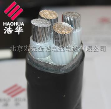 阻燃铝芯电力电缆 ZRYJLV22-宏亮电缆厂家直销-北京