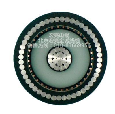 无磁铝丝铠装交联聚乙烯绝缘高压电力电缆YJSLV32