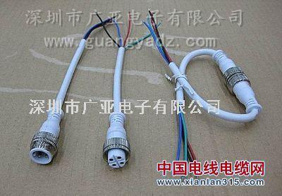 IP68防水连接器防水插头连接线产品图片展示