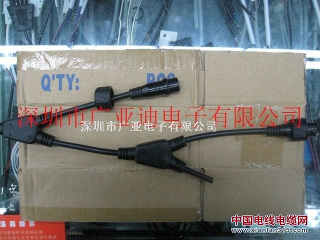 电源插头、防水插头、护栏管插头产品图片展示