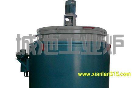 井式铝合金固熔热处理炉产品图片展示