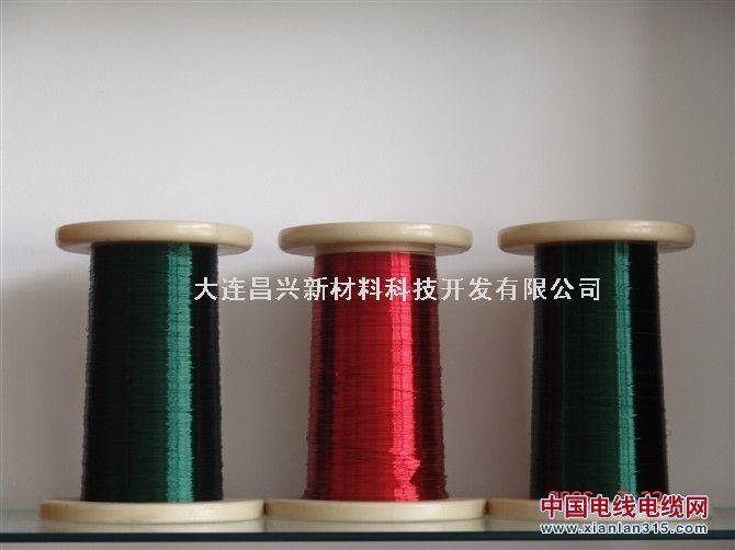 铜包铝线、漆包铜包铝线、镀锡铜包铝线产品图片展示