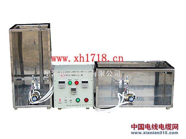 电线燃烧试验机 垂直燃烧测试仪 水平燃烧测试仪产品图片展示