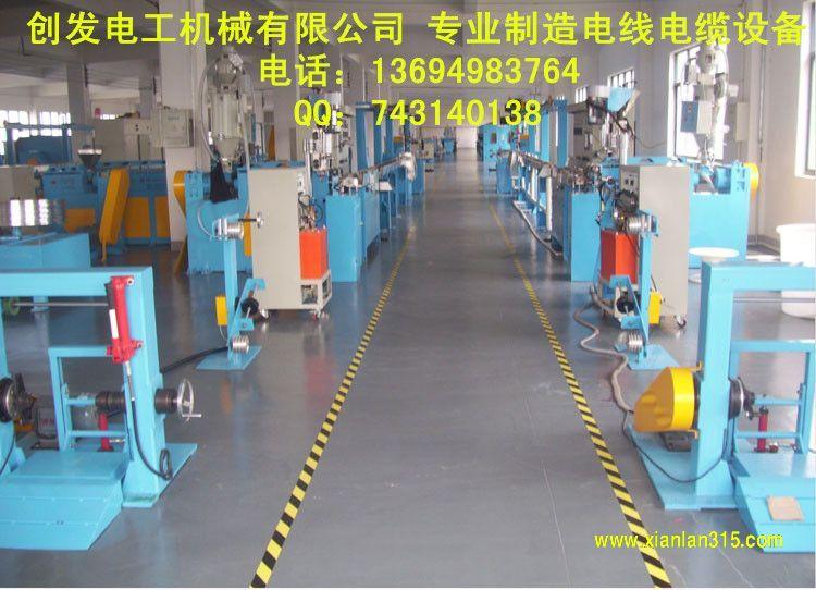 铁氟龙高温线挤出生产线产品图片展示