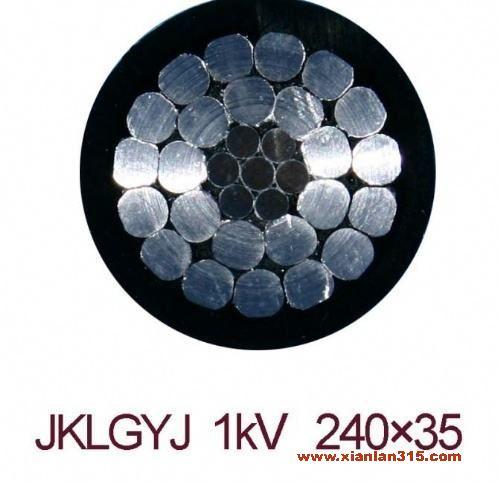 厂家销售 钢芯铝绞线 电工电气 JKLGYJ 国标铝芯 架空线 临时用线产品图片展示