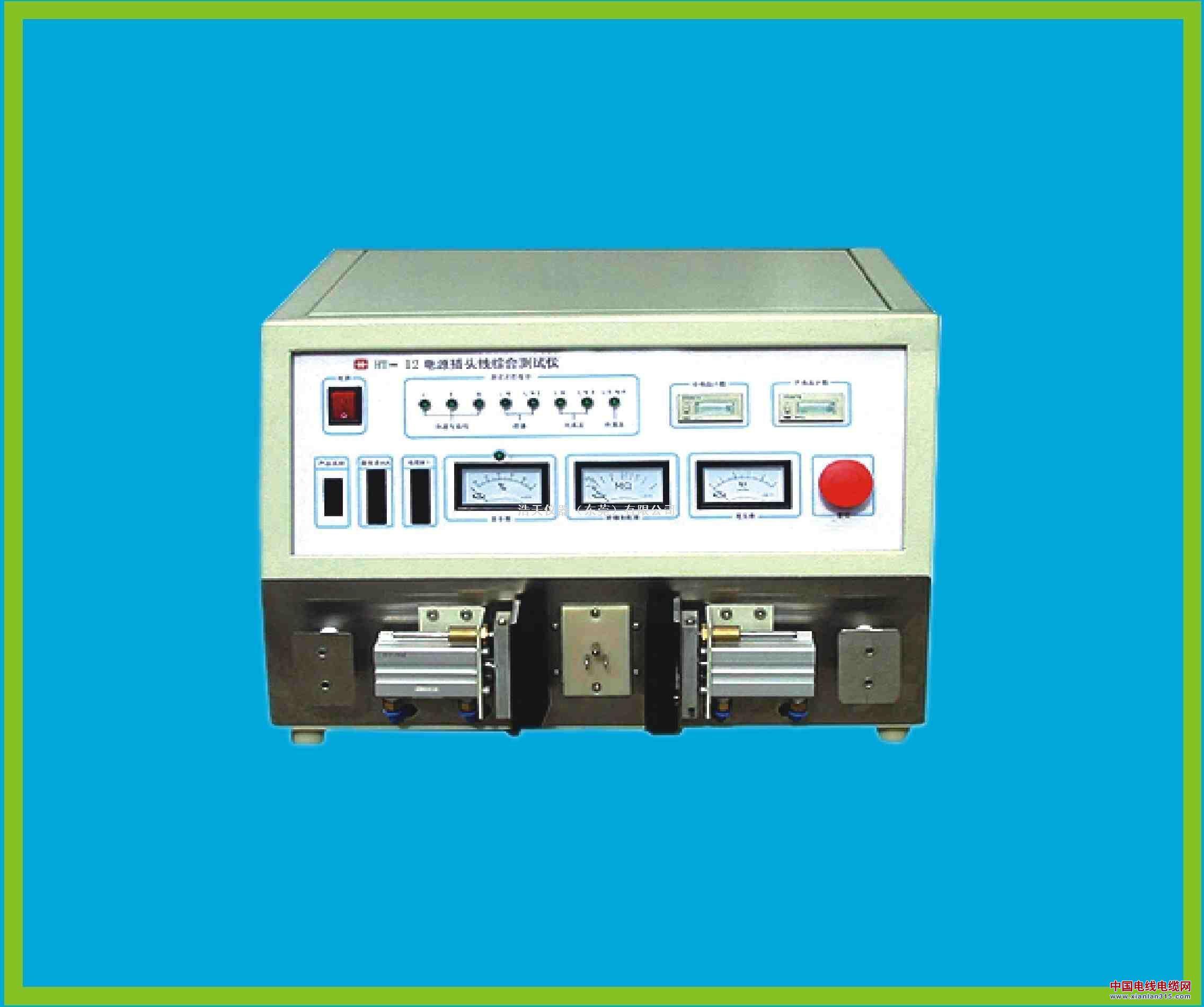 电源插头线综合测试仪产品图片展示