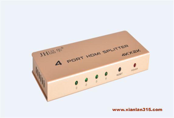 HDMI一进四出分配器产品图片展示