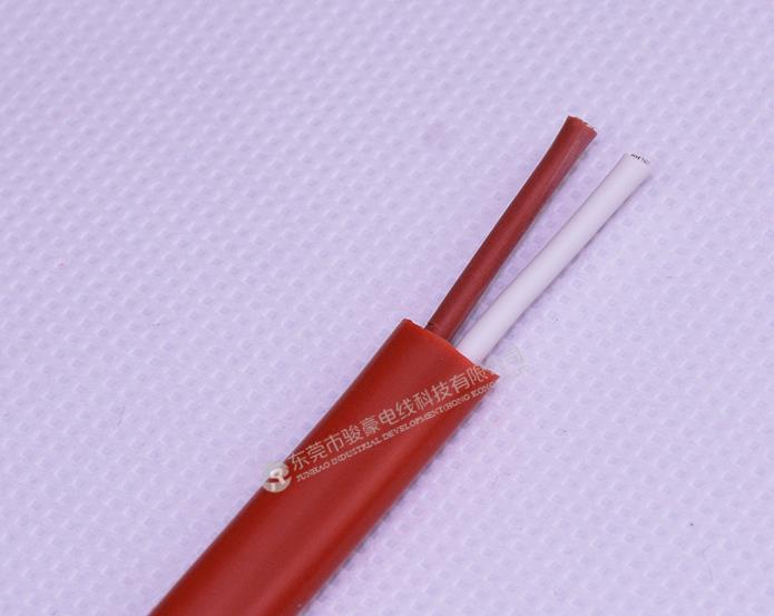 1平方2芯硅橡胶扁线产品图片展示