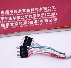 新能源汽车锂电池硅胶线束产品图片展示