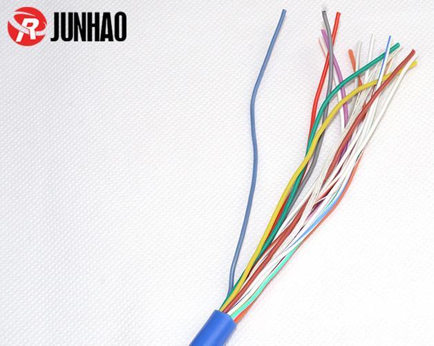 16芯耐高温硅胶易胜博ysb88手机版线加工定制产品图片展示