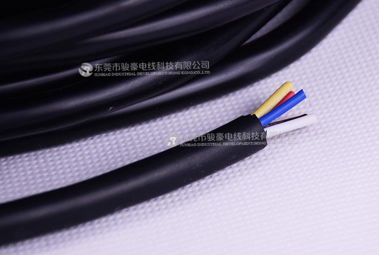 VDE 5*0.75平方黑色硅胶线产品图片展示