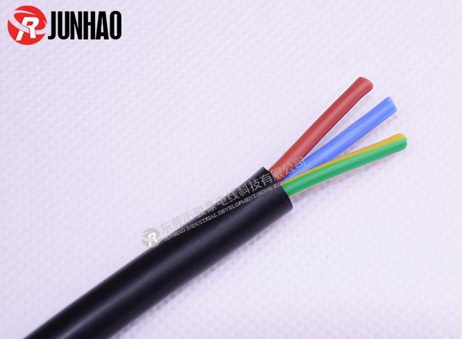 三芯电源插头线产品图片展示