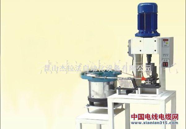 散粒半自动端子机,散料振动盘端子压着机,散装端子机厂家产品图片展示
