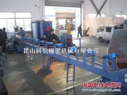 PPS(钢料)双螺杆造粒机产品图片展示