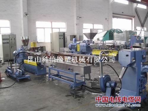 TPE弹性体双螺杆造粒机产品图片展示