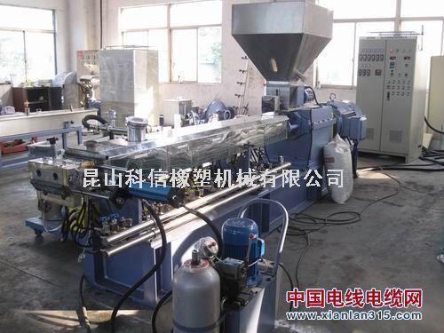 工程塑料PP/PE/ABS双螺杆造粒机产品图片展示