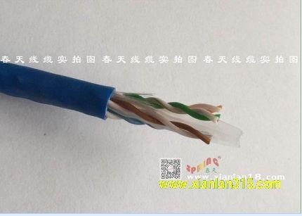 六类网线-春天线缆产品图片展示