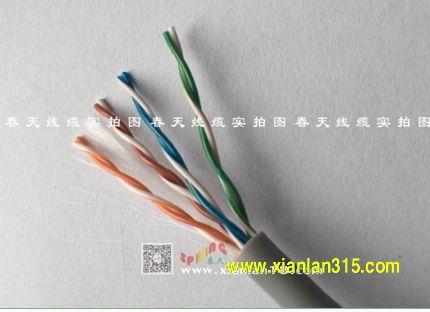 超五类网线-春天线缆产品图片展示