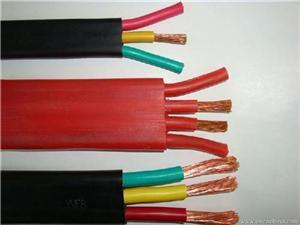 硅橡胶扁电缆-江苏旭悦线缆金尊娱乐平台图片展示