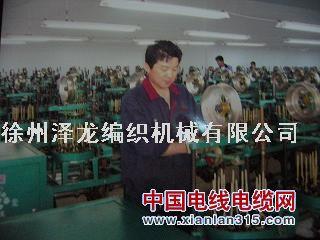 伸缩软管编织机产品图片展示