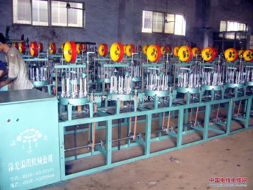 屏蔽线编织机产品图片展示