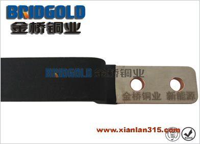 创新工艺浸塑新能源软连接 铝箔软连接 电力导电连接铜软连产品图片展示
