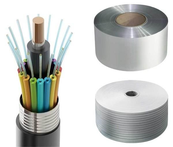 铝塑复合带、钢塑复合带产品图片展示